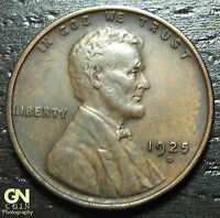 1925 D LINCOLN CENT WHEAT CENT  -   O5626