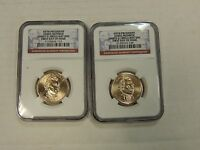 2008-P AND D PRESIDENTIAL DOLLAR NGC UNC FIRST DAY OF ISSUE - JAMES MONROE