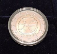 CYPRUS   2  COMMON COMMEMORATIVE EURO COIN 2009 EMU UNC