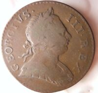 1773 GREAT BRITAIN 1/2 PENNY   HIGH QUALITY   HARD TO FIND C