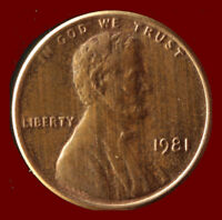 1981 P LINCOLN CENT SHIPS FREE. BUY 5 FOR $2 OFF