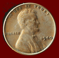 1940 P WHEAT CENT SHIPS FREE. BUY 5 FOR $2 OFF