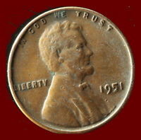 1951 P WHEAT CENT SHIPS FREE. BUY 5 FOR $2 OFF