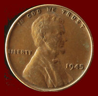 1945 P WHEAT CENT SHIPS FREE. BUY 5 FOR $2 OFF