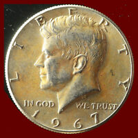 1967 P KENNEDY 40  SILVER CLAD HALF DOLLAR SHIPS FREE. BUY 5 FOR $2 OFF