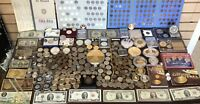 COOL VINTAGE COINS BULLION JEWELRY LOT: SILVER DOLLARS GOLD