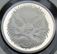 1990 OR 1991 OR 1992 5 CENT PROOF COIN IN 2 X 2 FROM SET  FREE POST  ECHIDNA