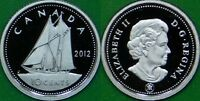 2012 CANADA DIME GRADED AS PROOF FROM ORIGINAL SET