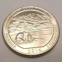 2014 D GREAT SAND DUNES QUARTER