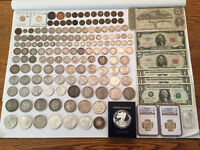 LARGE GOLD SILVER COLLECTOR/INVESTOR US COIN LOT RARE DATES