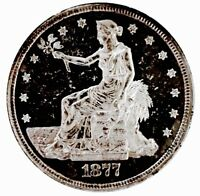 1877 S TRADE DOLLAR  IMPOSSIBLE FIND  ULTRA PROOF LIKE     P