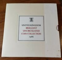1986 UNITED KINGDOM UNCIRCULATED COIN SET