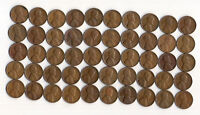 1947 D LINCOLN WHEAT CENT ROLL CIRCULATED