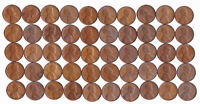 1952 S LINCOLN WHEAT CENT CIRCULATED ROLL