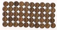 1951 D LINCOLN WHEAT CENT ROLL CIRCULATED