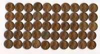 1952 D LINCOLN WHEAT CENT ROLL CIRCULATED