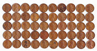 1940 S LINCOLN WHEAT CENT ROLL CIRCULATED