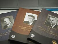 2015 COIN AND CHRONICLES  EISENHOWER, KENNEDY, & JOHNSON 3 SETS