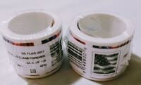 NEW SEALED 200 USPS FOREVER POSTAGE STAMPS  2 ROLLS OF 100 STAMPS