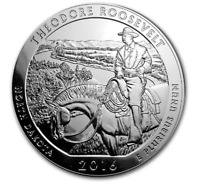 2016 5 OZ SILVER ATB THEODORE ROOSEVELT NATIONAL PARK ND