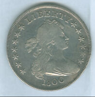 GENUINE 1800 DRAPED BUST TYPE US SILVER DOLLAR, FINEDETAILS