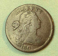 1805 LARGE CENT F SHARP PRETTY COIN RS