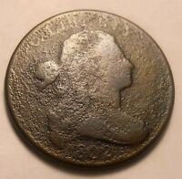 1802 DRAPED BUST LARGE CENT  SHIPS FREE AB1