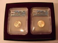 2006 P  D  JEFFERSON NICKEL ICG GRADED MINT STATE 67 RETURN TO MONTICELLO  2 COINS