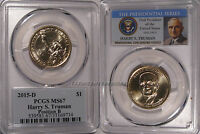 2015 D HARRY S TRUMAN PRESIDENTIAL DOLLAR $1 PCGS MINT STATE 67 POSITION B
