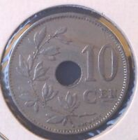 BELGIAN COIN LOT 10 CENTIMES 1924 1925/4 1927 1929
