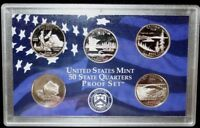 2005 S US MINT STATE QUARTERS PROOF SET NO BOX NO COA