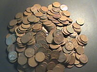ALMOST FREE TO GOOD HOME CULL LOT OF 50 WHEAT PENNIES  CULLS/AG/GOOD COINS