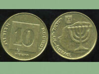 1  ISRAEL COIN   10 AGOROT COIN NIS   NEW ISRAELI SHEKEL   2001   WORLD COIN