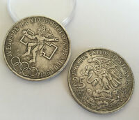 1968 S COLLECTIONS COIN METAL COPPER ANTIQUE SILVER PLATED COMMEMORATIVE COIN