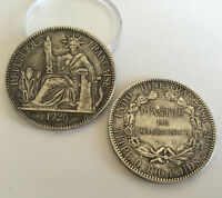 1926 S COLLECTIONS COIN METAL COPPER ANTIQUE SILVER PLATED COMMEMORATIVE COIN