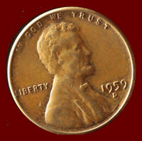 1959 D LINCOLN CENT SHIPS FREE. BUY 5 FOR $2 OFF