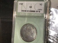 BB168 1797 BEGINNING OF USA LG CENTGREAT COLLECTOR GOOD