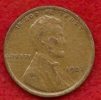 BETTER STRUCK AND BETTER GRADE 1923 LINCOLN WHEAT CENT FROM ESTATE
