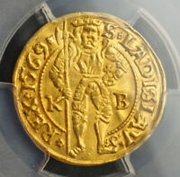 Click now to see the BUY IT NOW Price! 1569 HUNGARY MAXIMILIAN II. GOLD GULDEN  DUCAT  COIN. KREMNITZ  PCGS AU 58