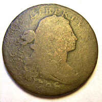 1796 DRAPED BUST LARGE CENT LIHERTY VARIETY S103 R4  VARIETY