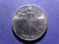 2000 SILVER EAGLE  BRILLIANT UNCIRCULATED
