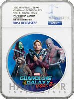 2017 GUARDIANS OF THE GALAXY   1 KILO SILVER COIN   NGC PF70