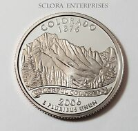 2006 S COLORADO  PROOF  STATE QUARTER
