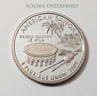 2009 S AMERICAN SAMOA  PROOF  QUARTER
