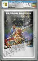 2018 STAR WARS: EMPIRE STRIKES BACK SILVER FOIL   CGC 10 GEM MINT FIRST RELEASE