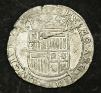 1612 NETHERLANDS KAMPEN. NICE SILVER 6 STUIVERS  SCHELLING  COIN. XF