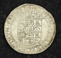 1614 NETHERLANDS FRIESLAND. SILVER 6 STUIVERS  ARENDSCHELLING  COIN.