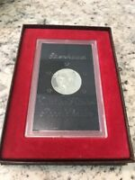 1973 S PROOF EISENHOWER BROWN IKE SILVER DOLLAR IN PRESENTATION BOX