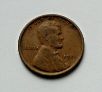 1920 USA LINCOLN WHEAT CENT COIN - ONE CENT 1 - BROWN