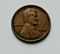USA 1934 ONE CENT 1 LINCOLN WHEAT CENT COIN
